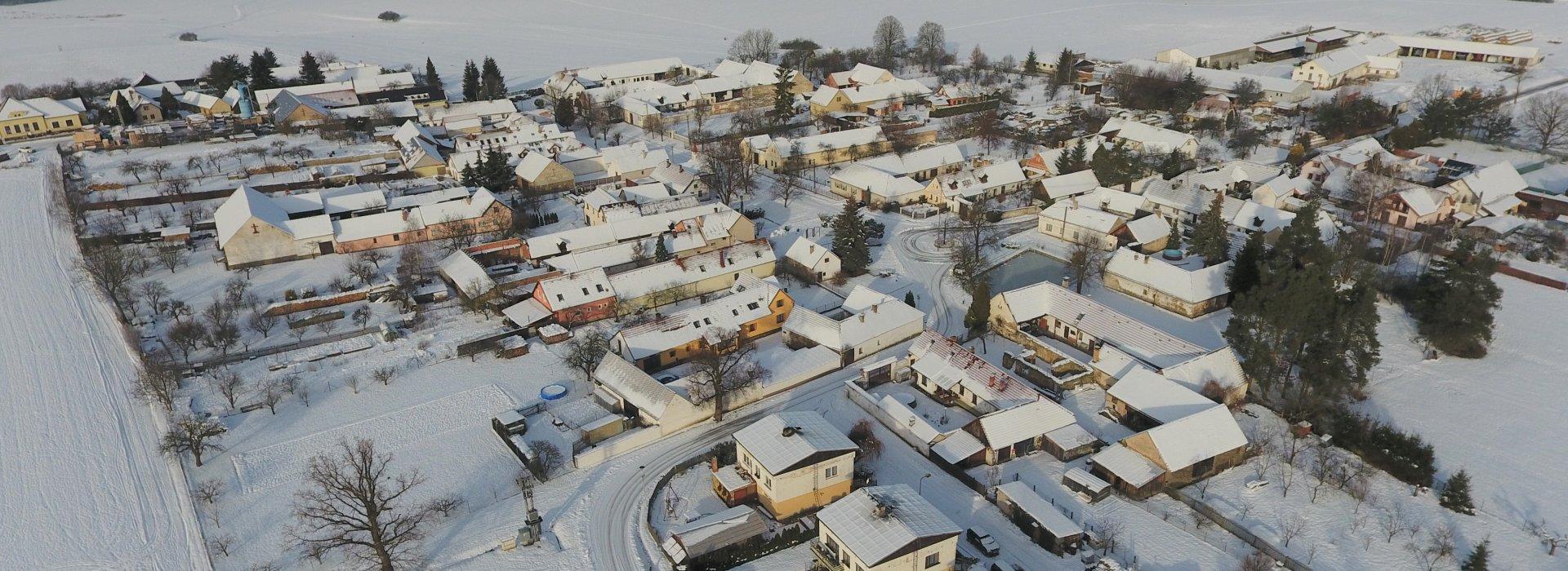 Haškovcova Lhota - Zima 2020